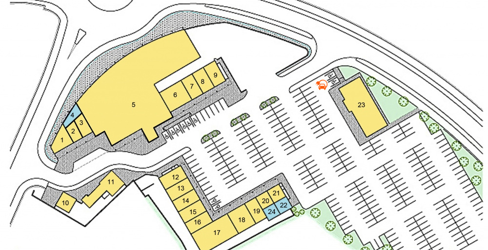 Newpark Shopping Centre | Kilkenny | Store Map